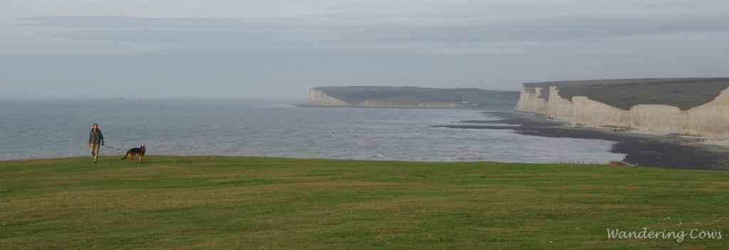 View west to the Seven Sisters