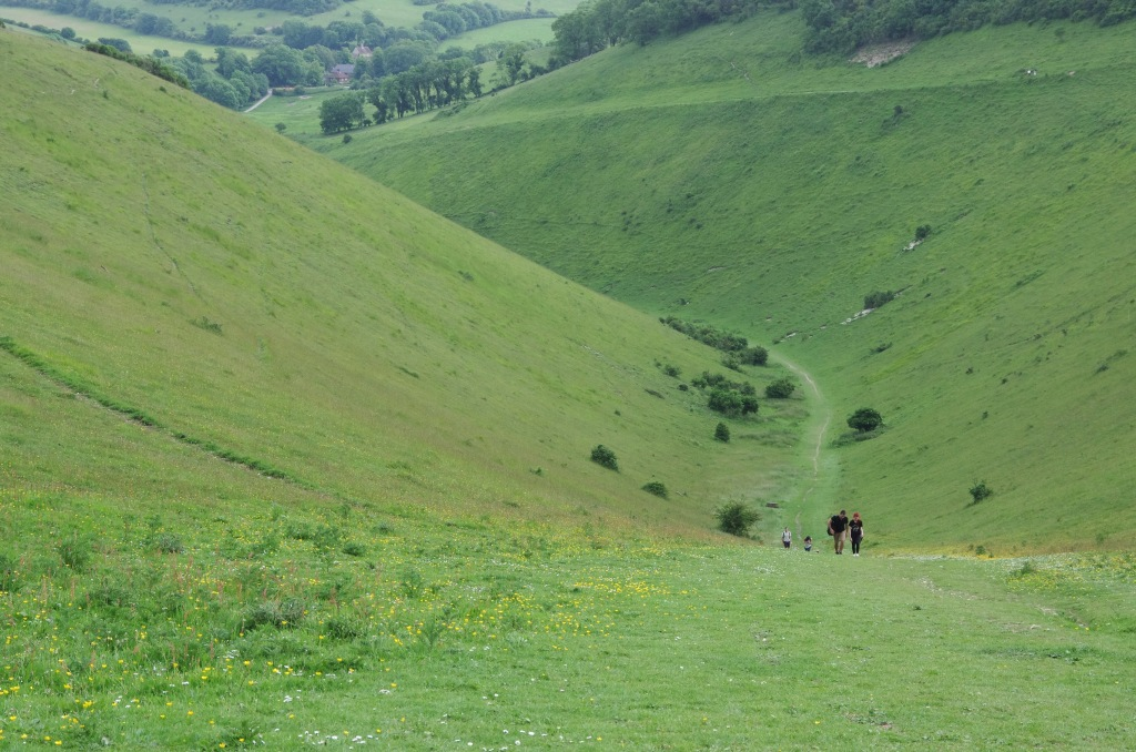 Devil's Dyke valley